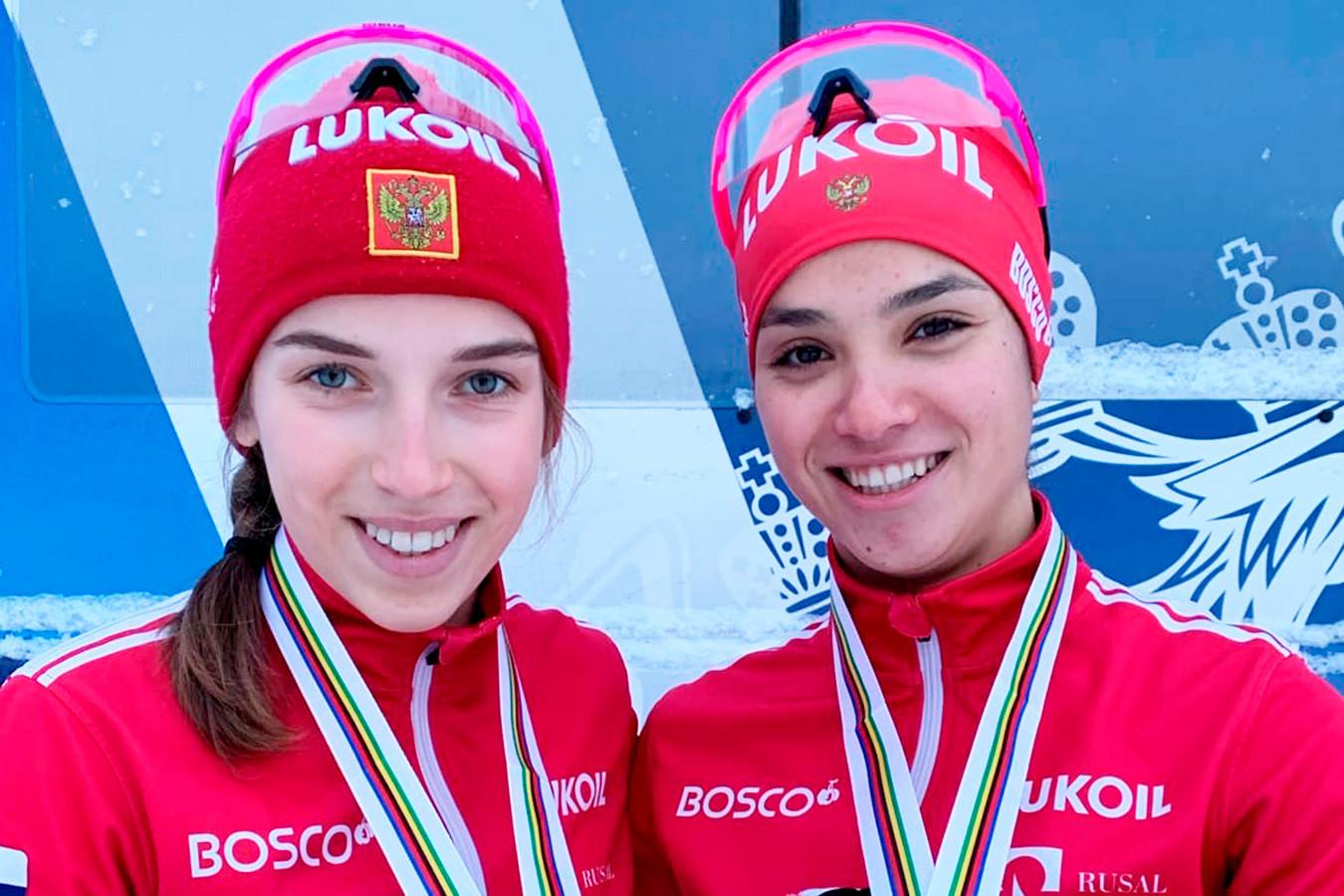 Российские лыжницы стали вторыми в эстафете на юниорском ЧМ. Победила сборная Швеции
