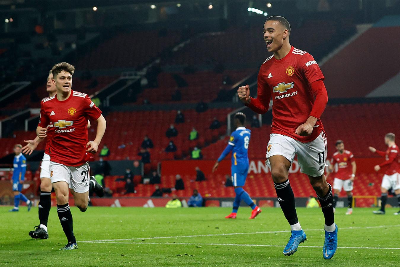 «Манчестер Юнайтед» одержал волевую победу в матче с «Брайтоном»