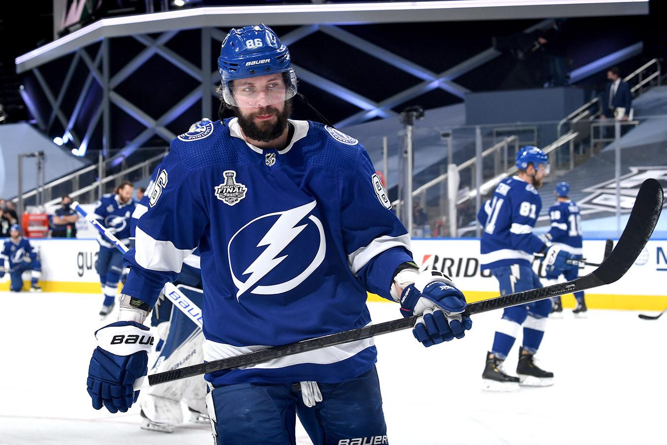 Кучеров пропустит регулярный сезон-2020/2021 НХЛ, ему предстоит операция