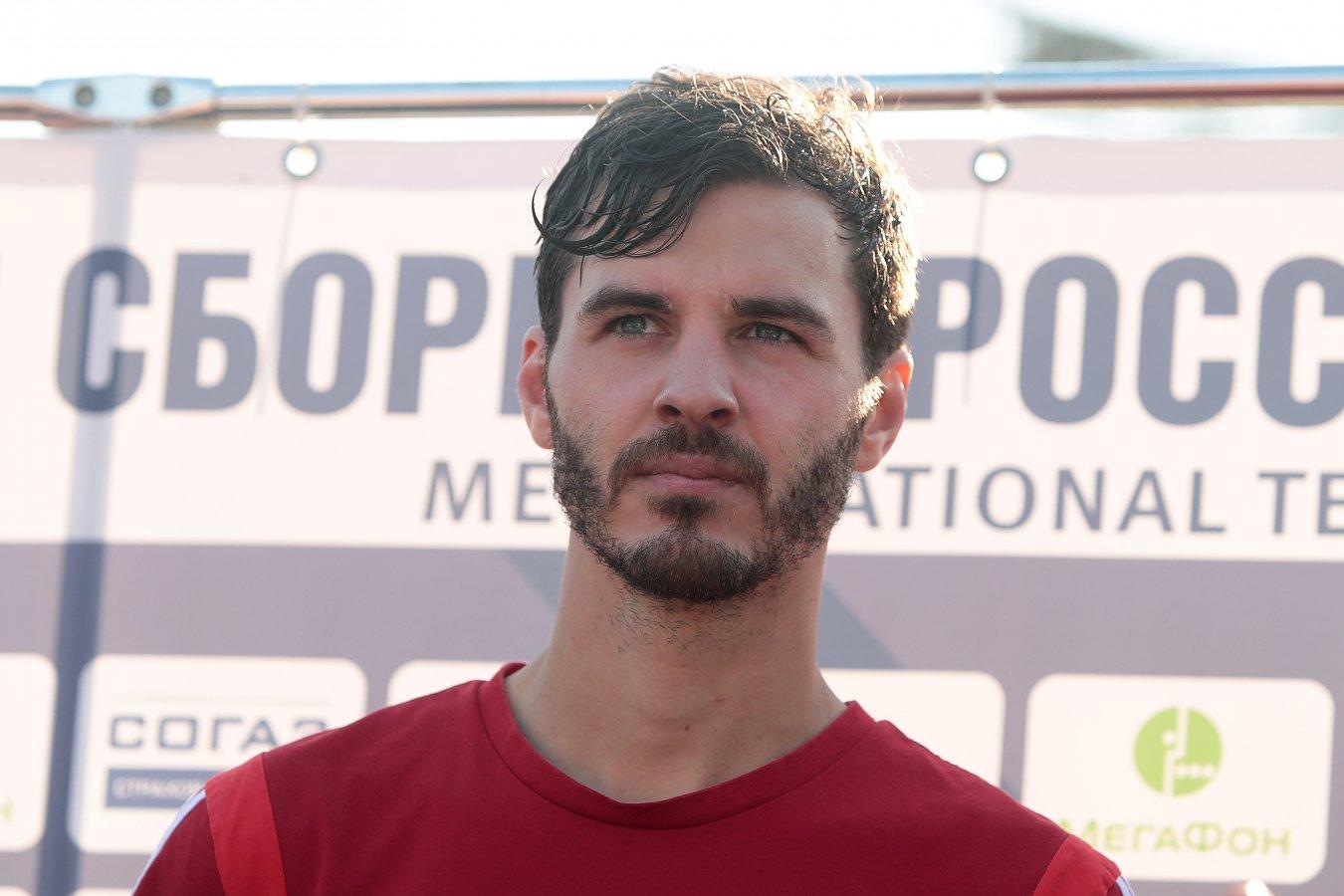 Ерохин стал автором первого гола сборной России при Карпине