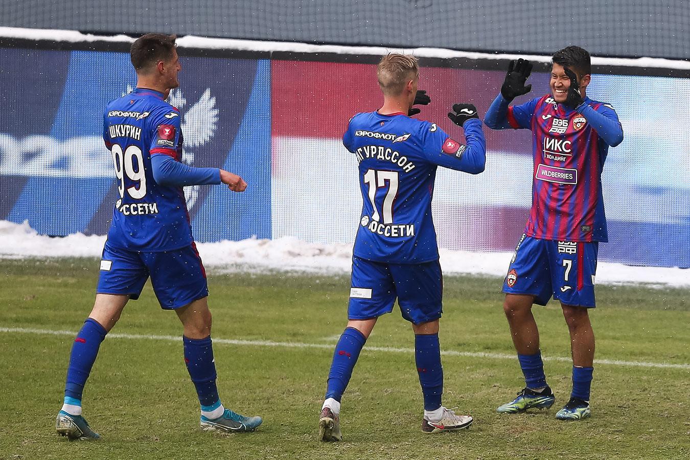ЦСКА в большинстве обыграл «СКА-Хабаровск» и вышел в 1/4 финала Кубка России