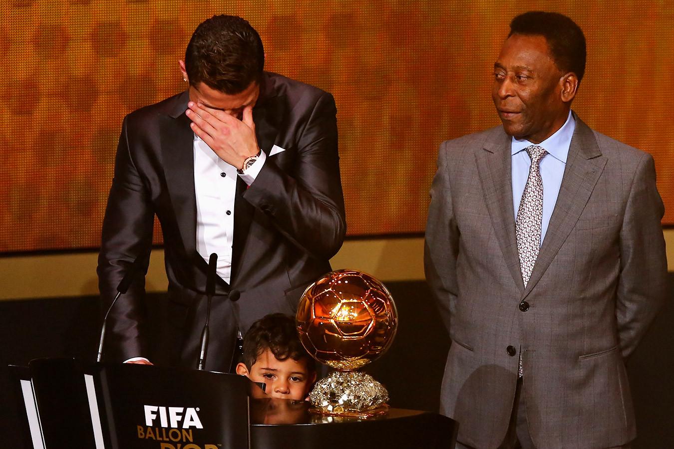Пеле увеличил количество голов в своём «инстаграме» после того, как его обошёл Роналду
