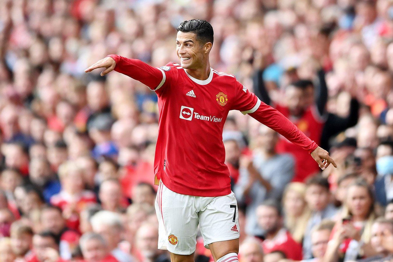 Роналду оформил дубль в первом матче после возвращения в «Манчестер Юнайтед»