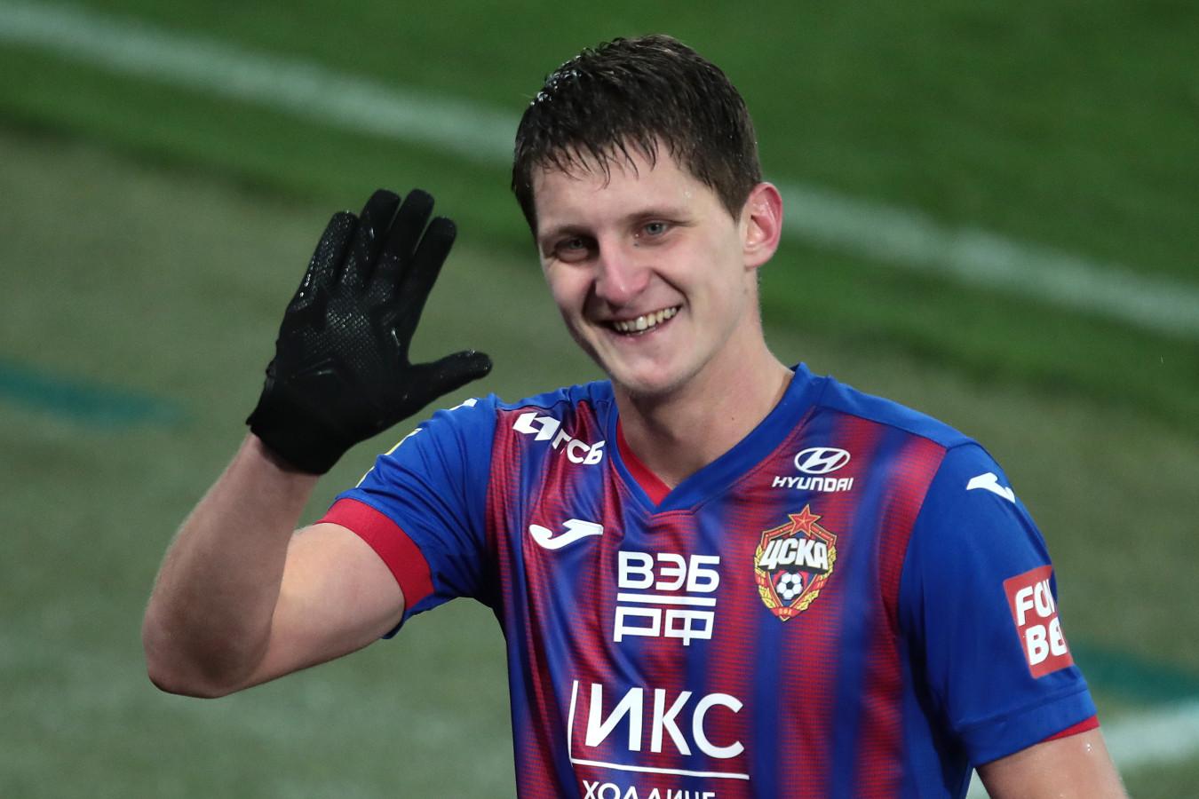 Защитник ЦСКА Игорь Дивеев признан лучшим молодым игроком РПЛ 2020 года