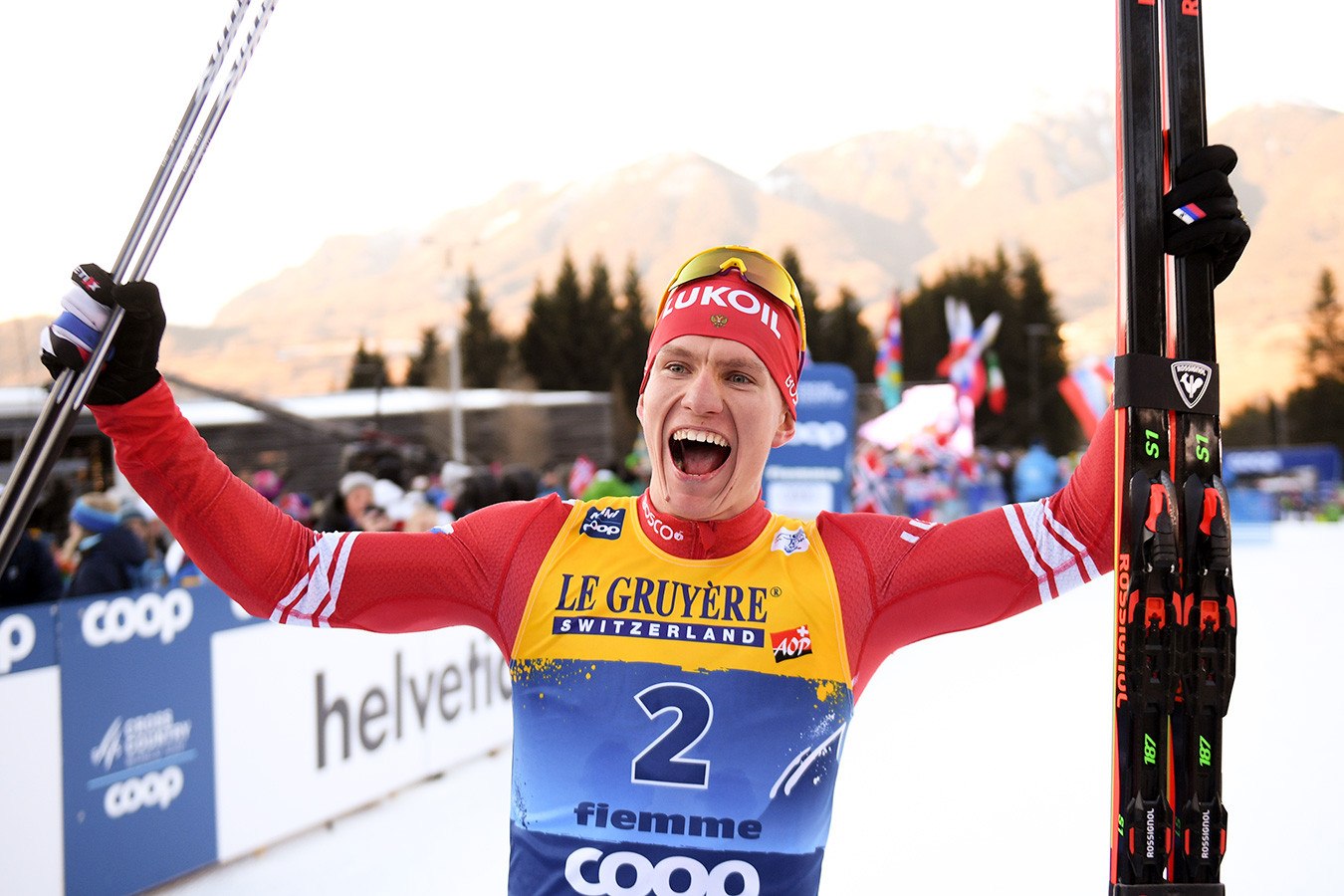 Лыжник Александр Большунов возглавил общий зачёт Кубка мира