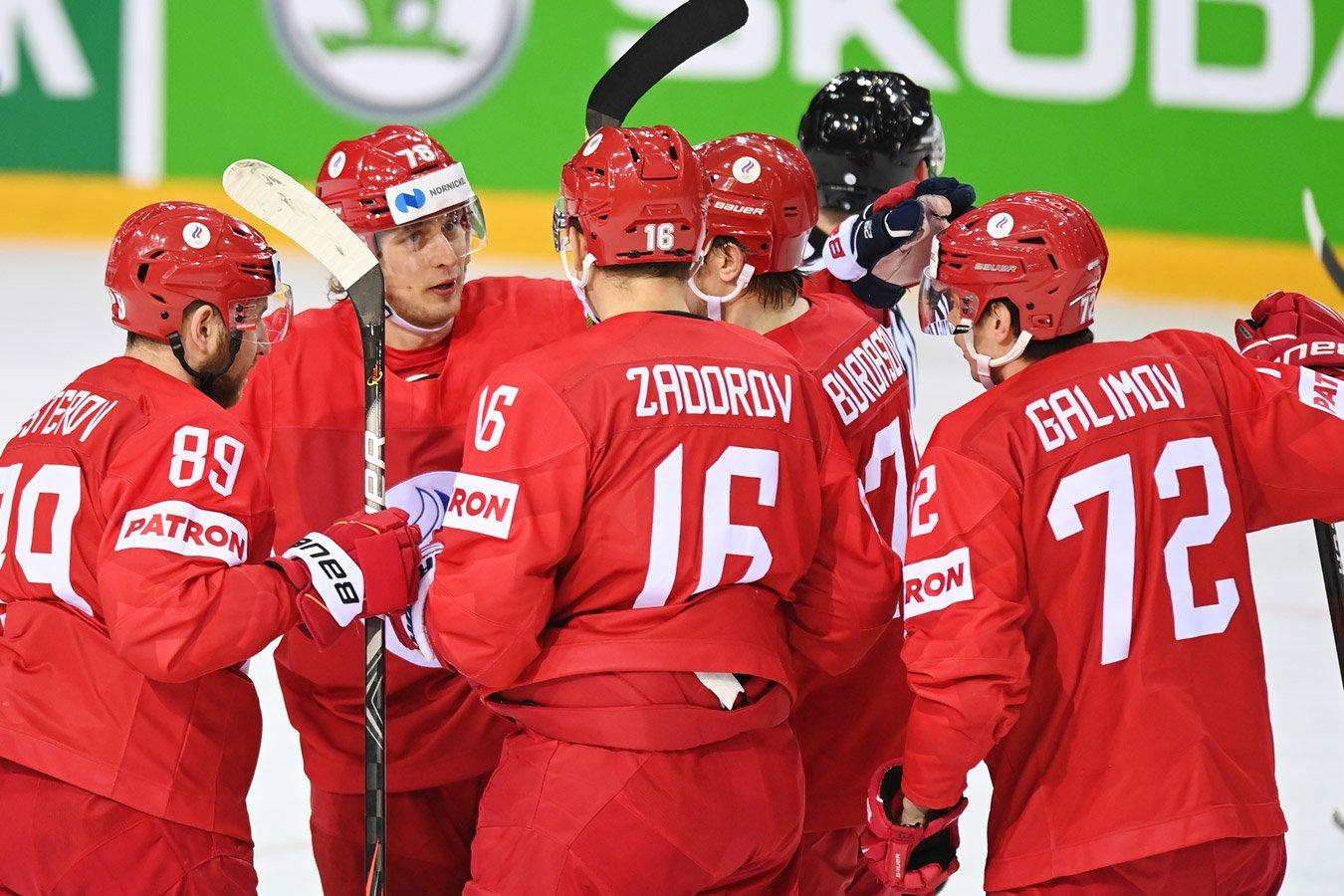 Сборная России сыграет с Канадой в четвертьфинале ЧМ-2021