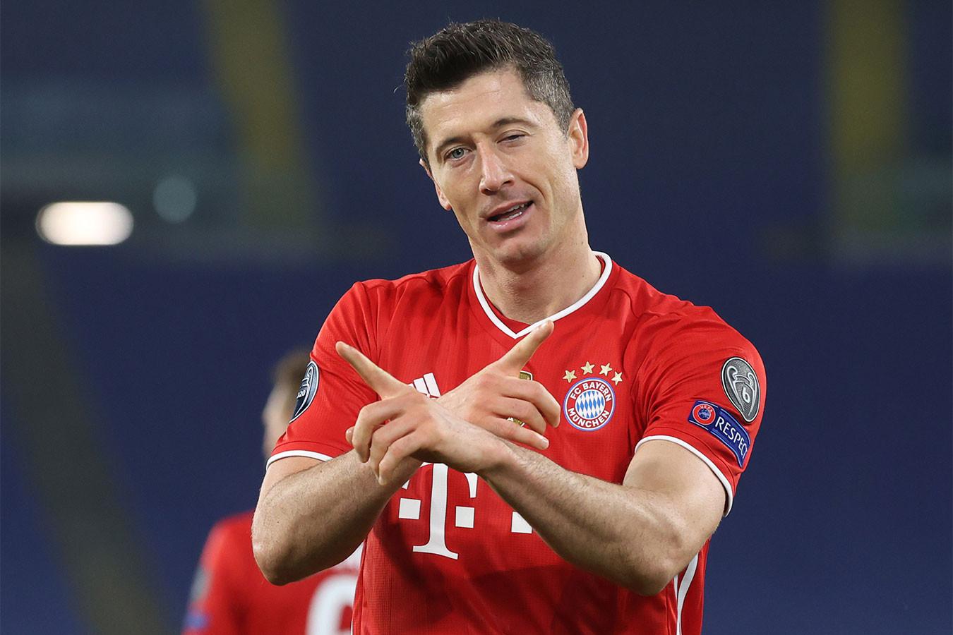 Левандовски превзошёл Рауля и вышел на третье место в списке бомбардиров Лиги чемпионов
