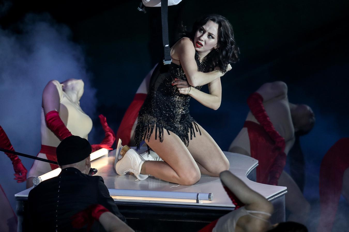 Анна Семенович: Туктамышева с формами, она прямо женщина. У неё сексуальный артистизм