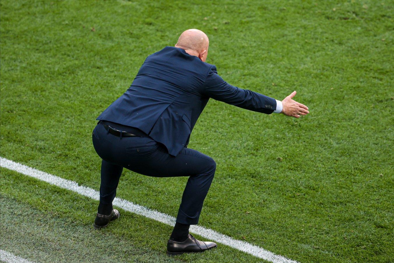 Черчесов прокомментировал поражение России от Дании в заключительном туре Евро-2020
