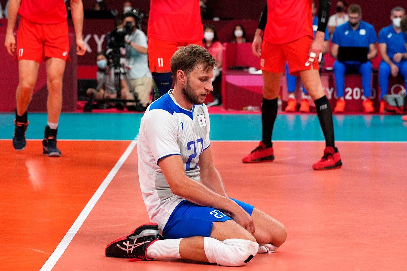 Российские волейболисты на тай-брейке уступили Франции в финале Олимпиады-2020