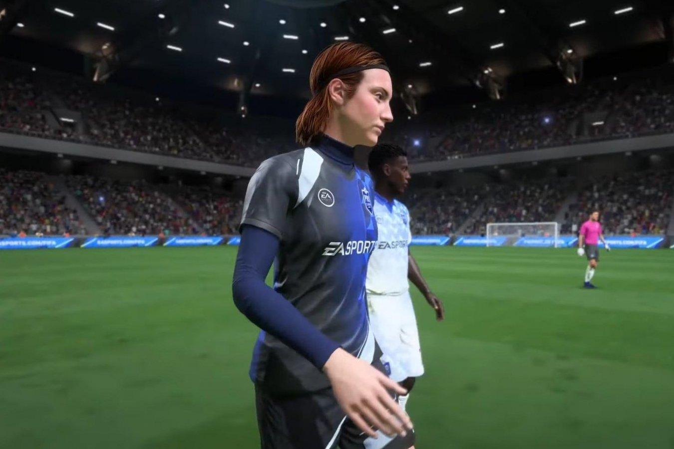 В FIFA 22 появятся девушки-футболисты — можно будет создать Коваленко или Карпову