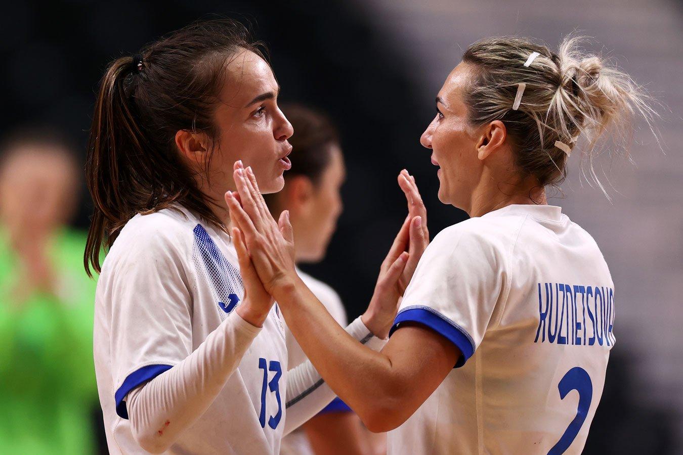 Женская сборная России по гандболу вышла в финал Олимпийских игр в Токио