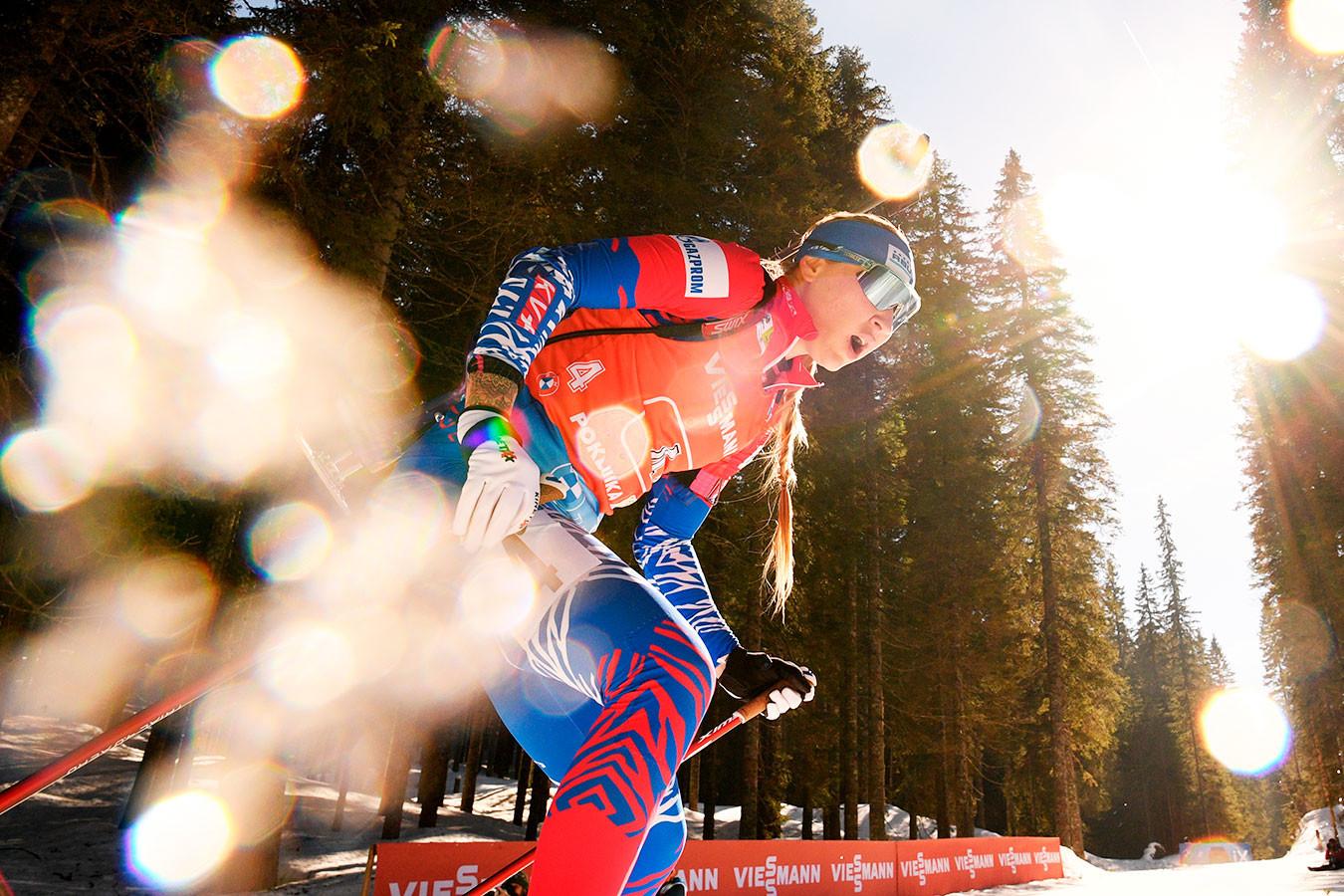 Павлова победила в спринте на чемпионате России по биатлону, Миронова не попала в топ-10