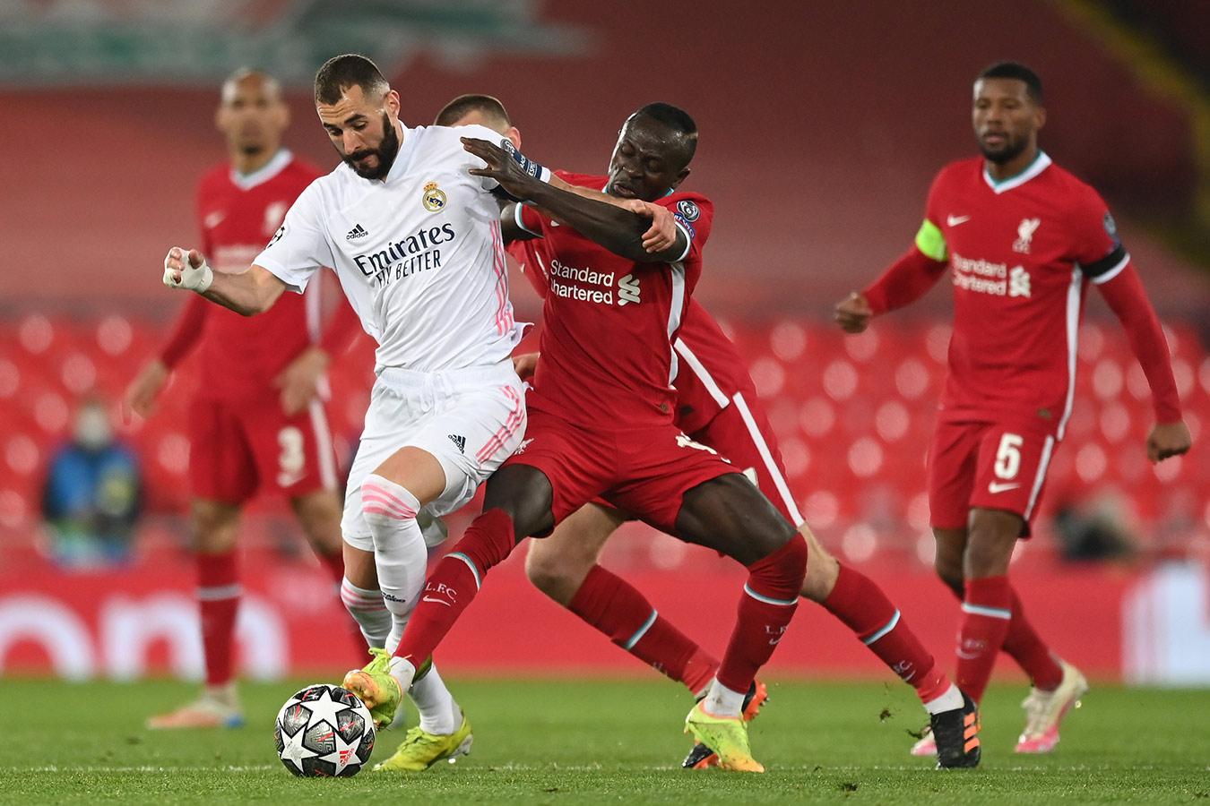 «Ливерпуль» сыграл вничью с «Реалом» и вылетел из Лиги чемпионов