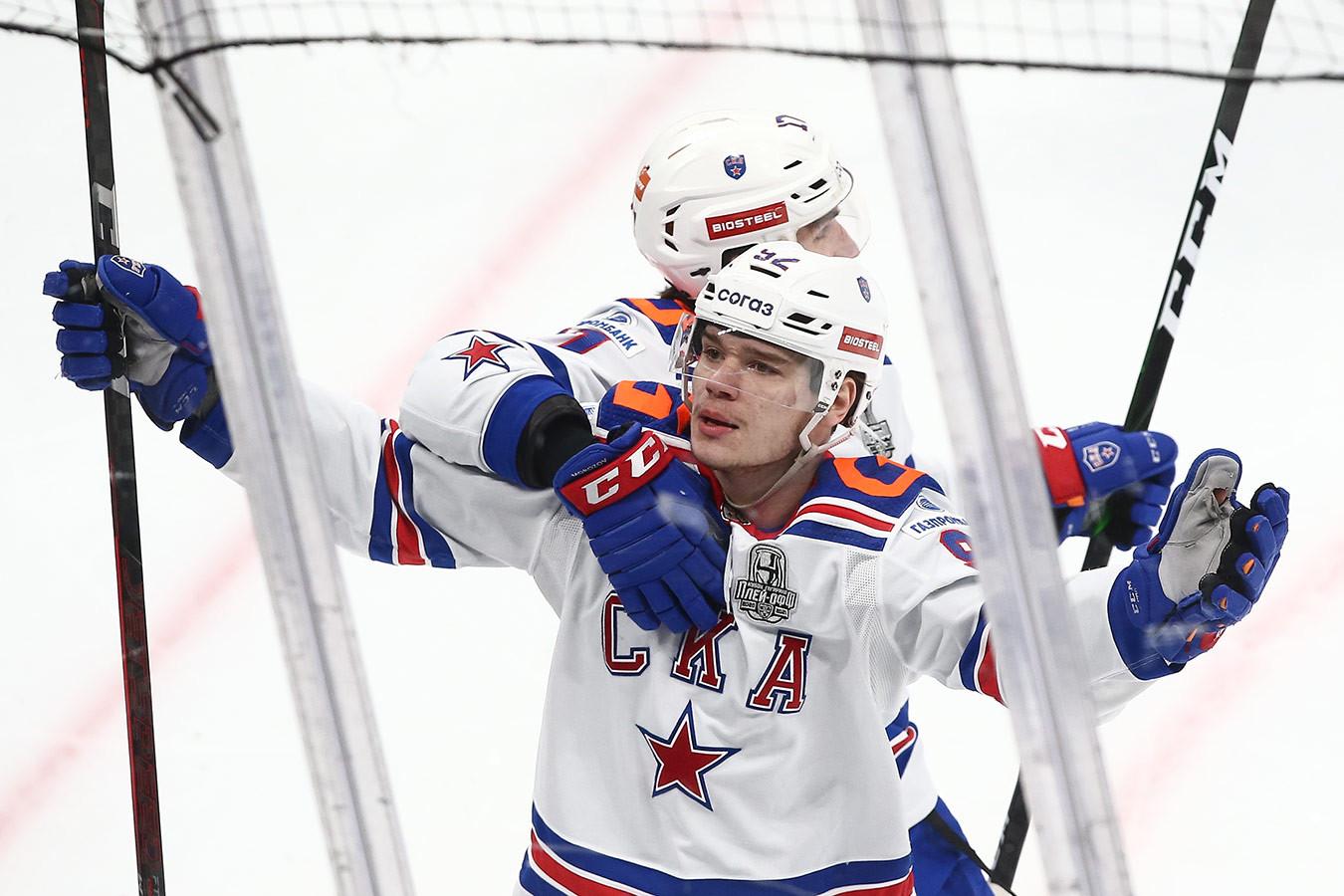 СКА обыграл «Динамо» в овертайме и вышел вперёд в серии