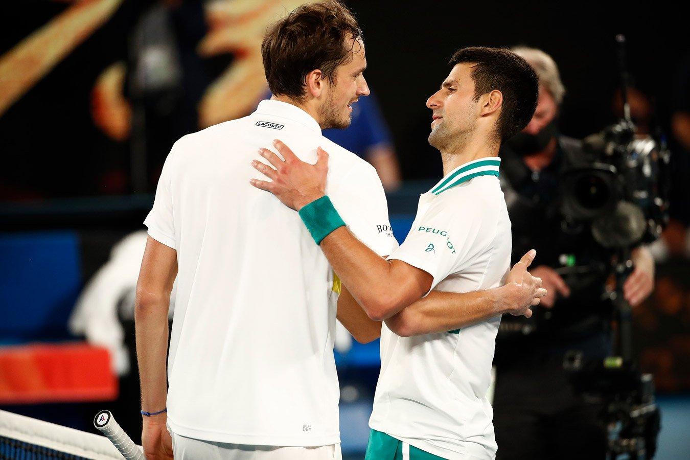 Даниил Медведев в трёх сетах обыграл Новака Джоковича в финале US Open
