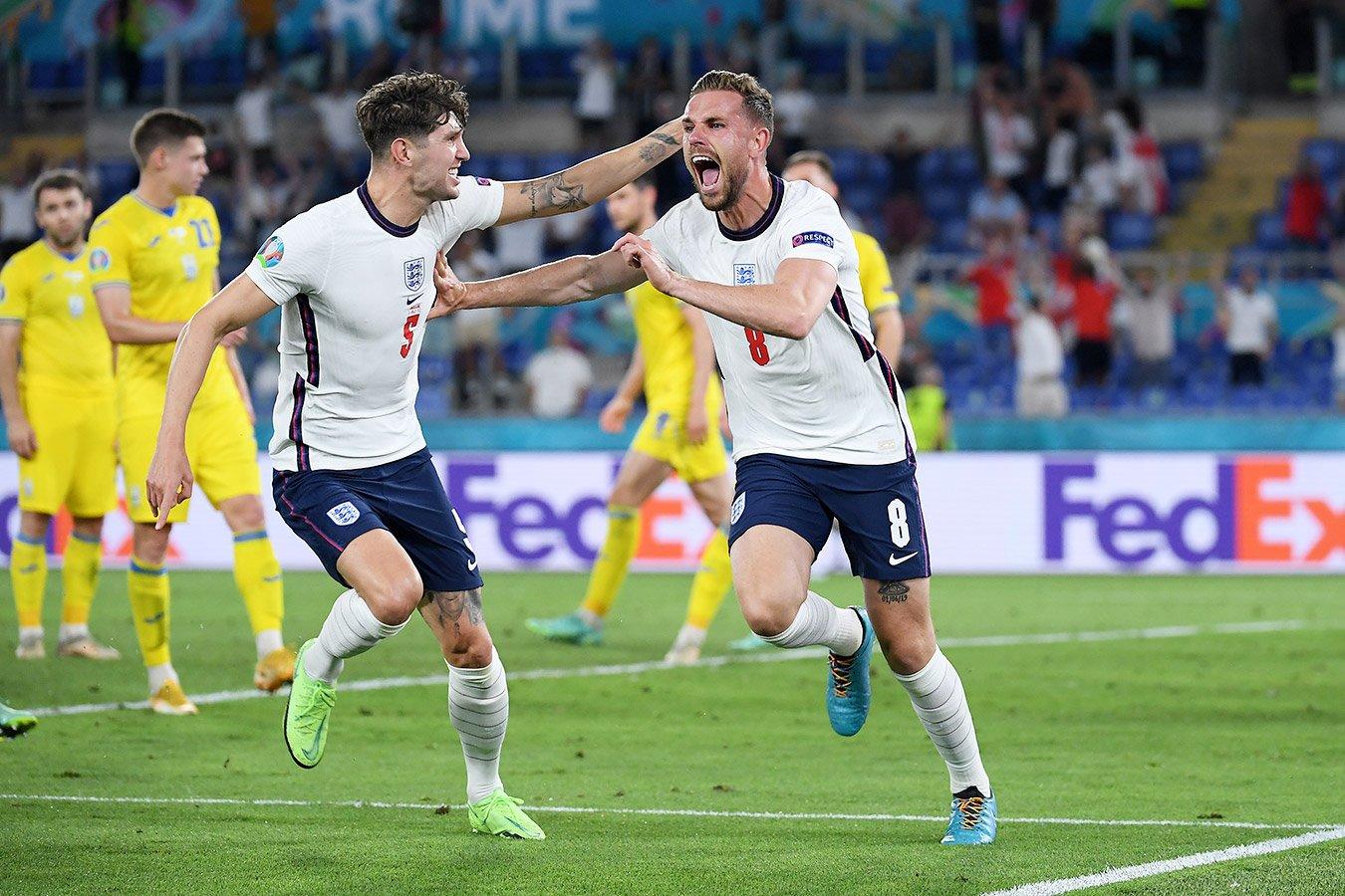 Сборная Англии сыграет с Данией в 1/2 финала Евро-2020