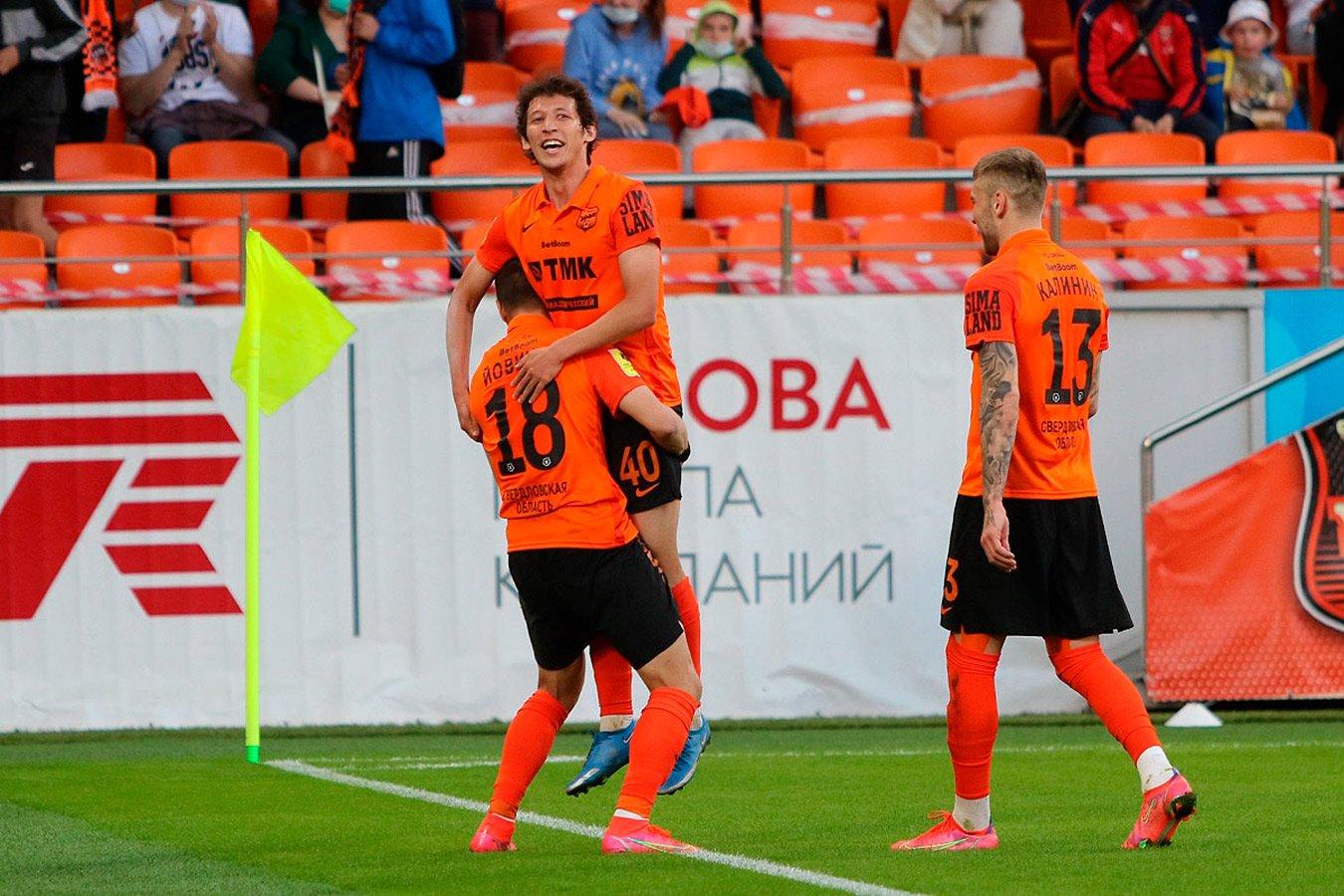 «Урал» обыграл «Ростов» в матче 29-го тура РПЛ