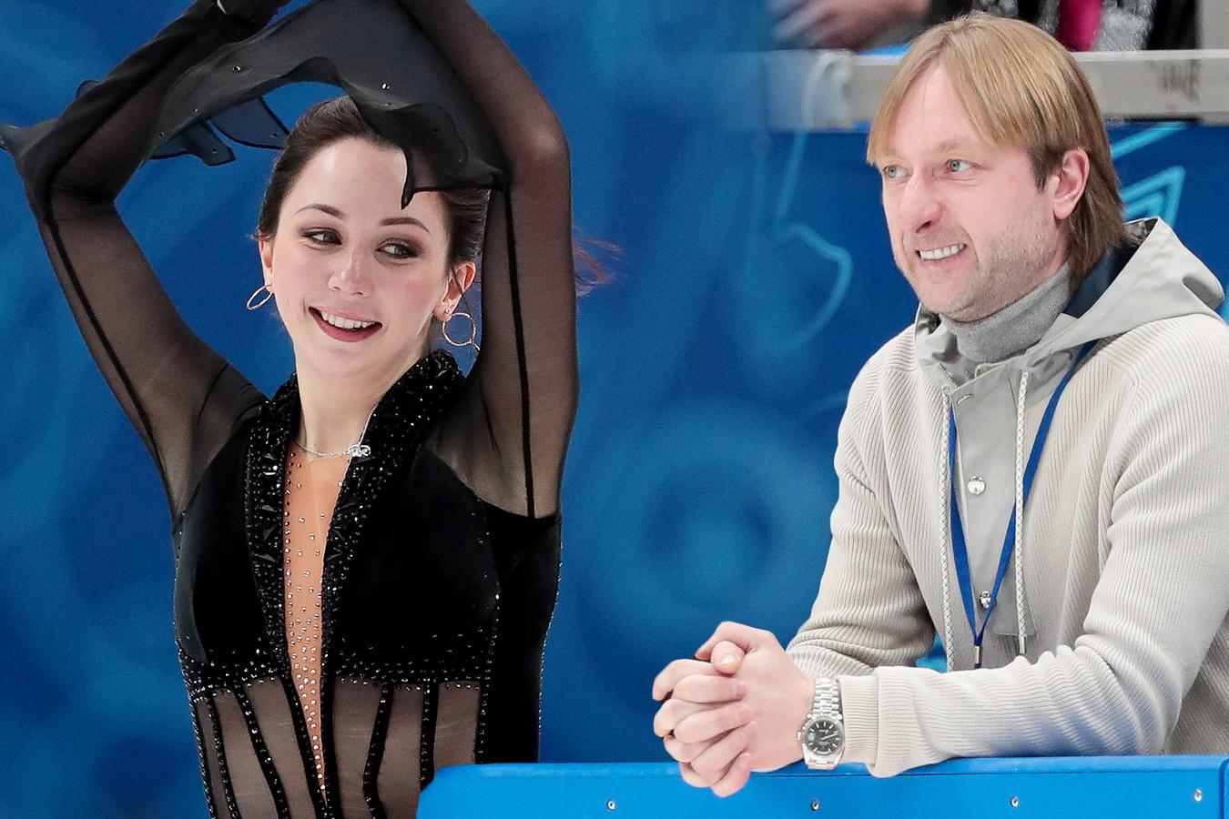 Плющенко аплодировал Косторной, Туктамышева заигрывала с публикой, Тутберидзе сияла. Фото