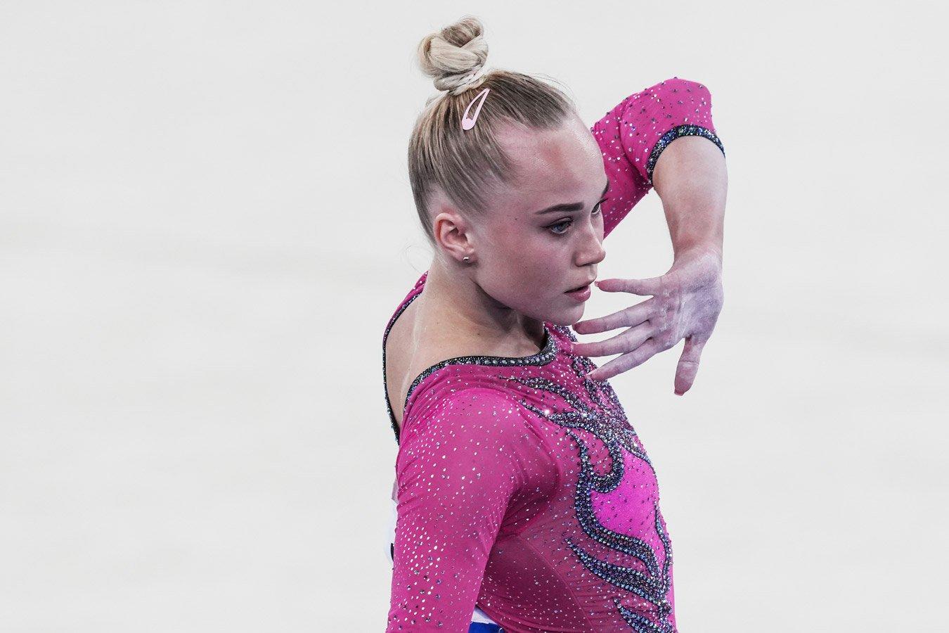 Российская гимнастка Ангелина Мельникова стала пятой в опорном прыжке на Олимпиаде в Токио