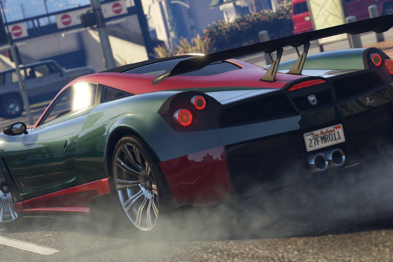 Автомобили в GTA Online станут быстрее в версиях игры для PS5 и Xbox Series X S