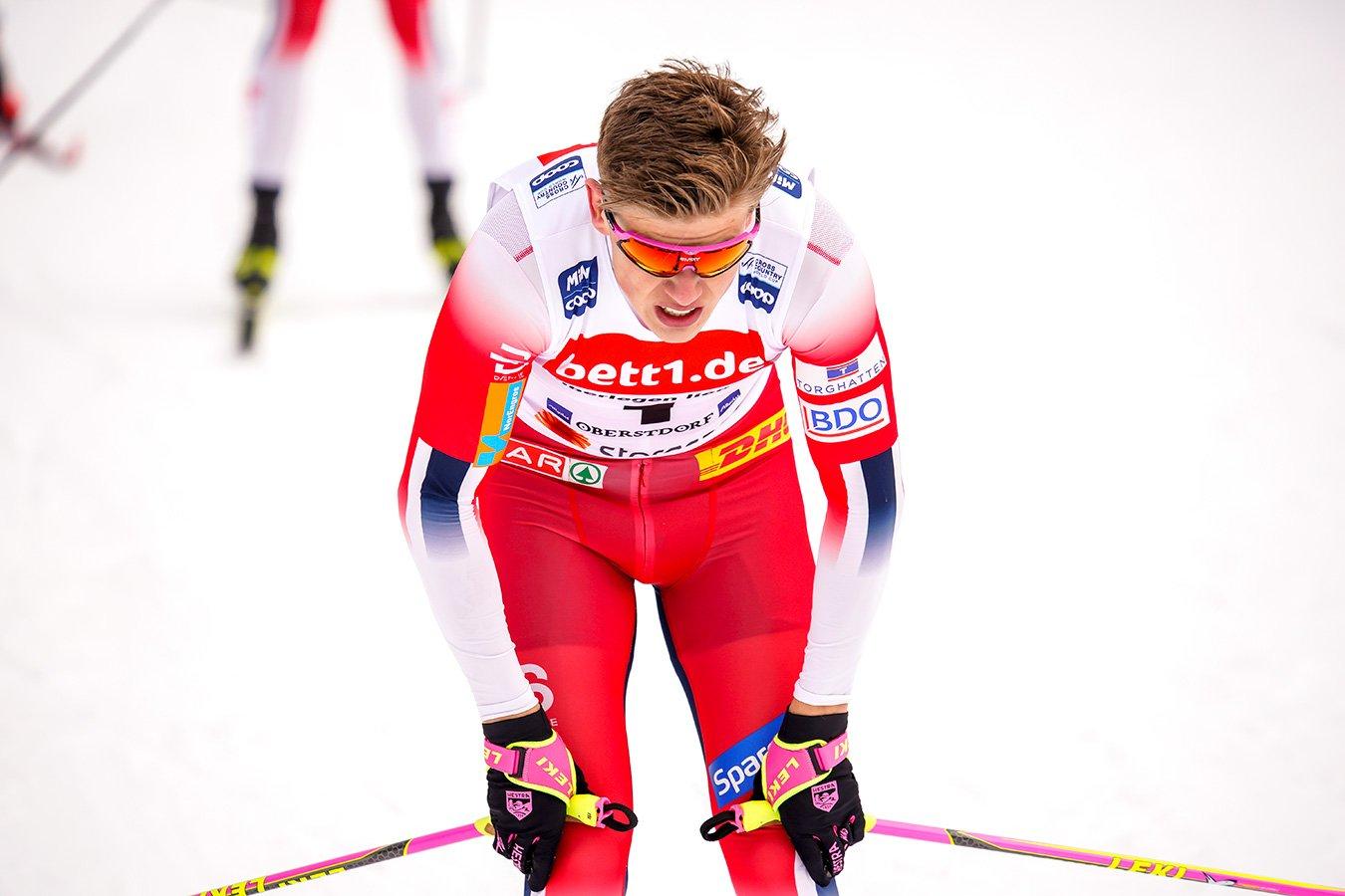 Йоханнес Клебо страдал бессонницей после обнаружения COVID-19 в норвежской команде