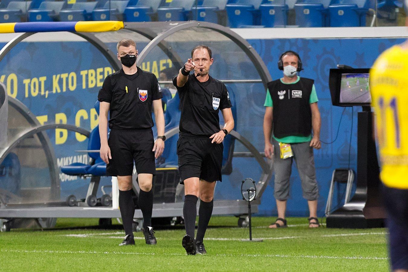 ЭКС РФС признала две ошибки Мешкова в матче «Ростов» — «Зенит»