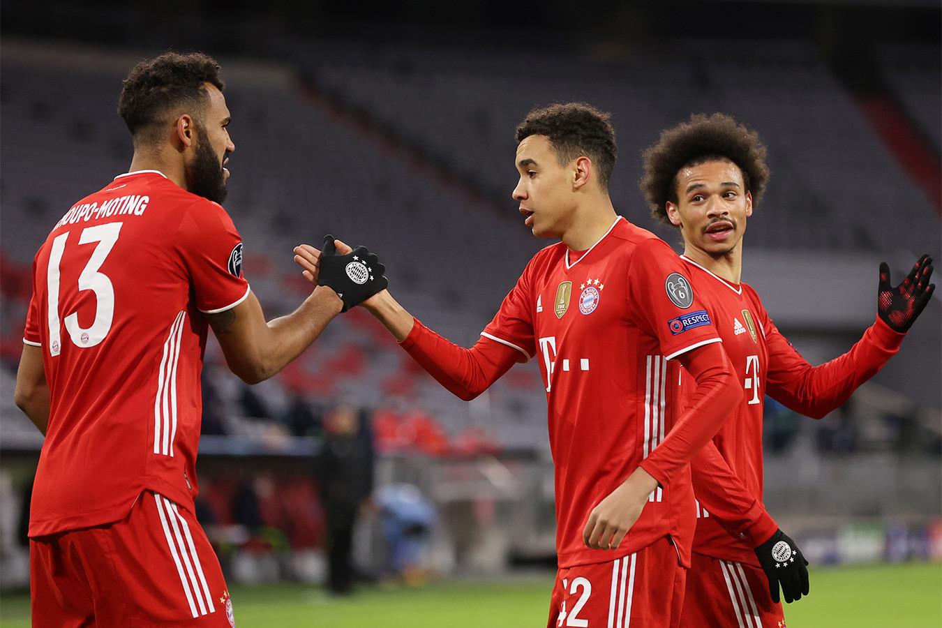 «Бавария» вновь обыграла «Лацио» и вышла в 1/4 финала Лиги чемпионов
