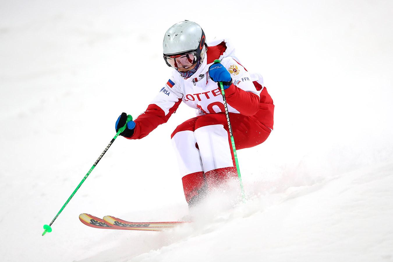 Анастасия Смирнова принесла России первое в истории золото ЧМ в парном могуле