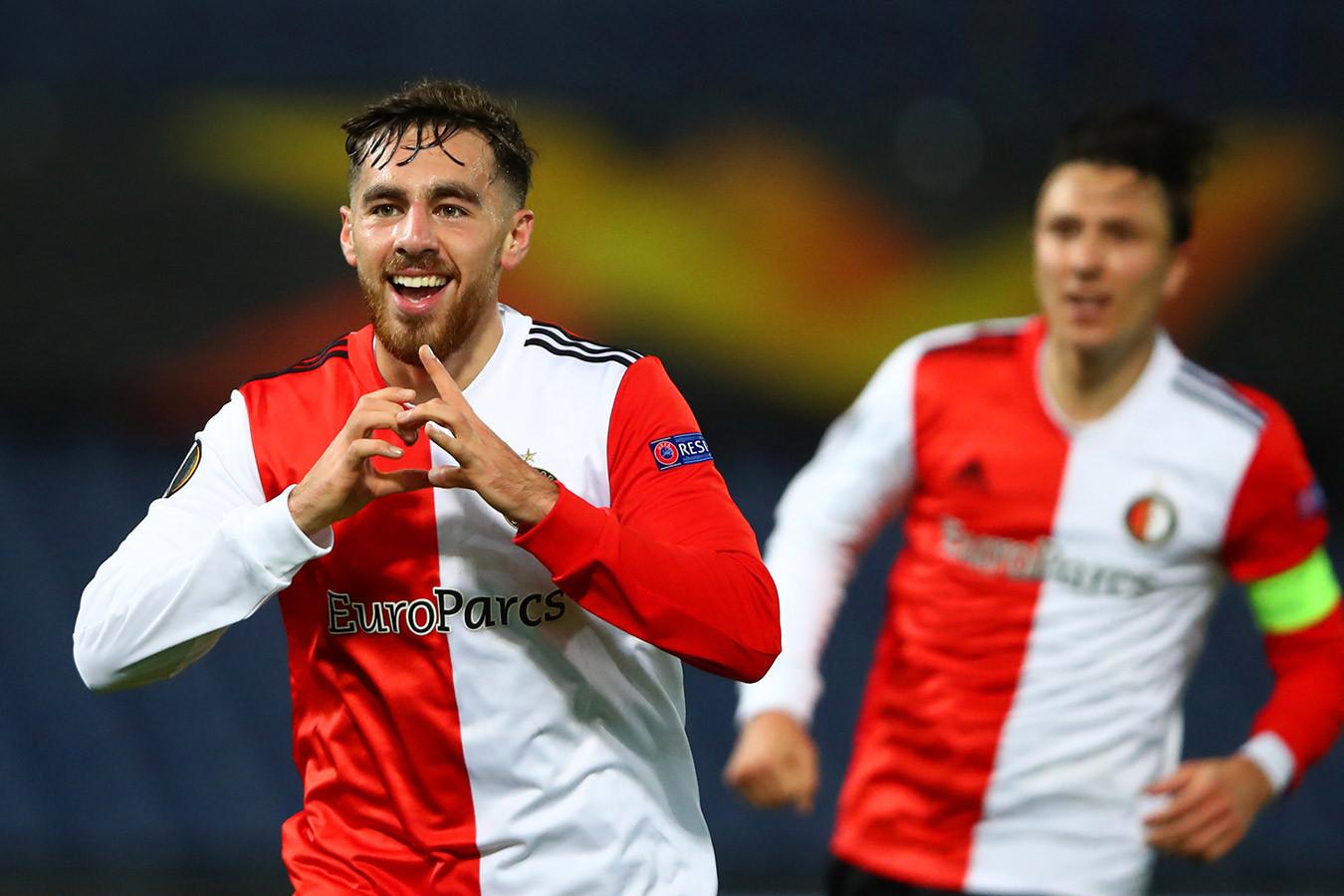 ЦСКА проиграл в гостях «Фейеноорду» в Лиге Европы, пропустив три мяча за 9 минут