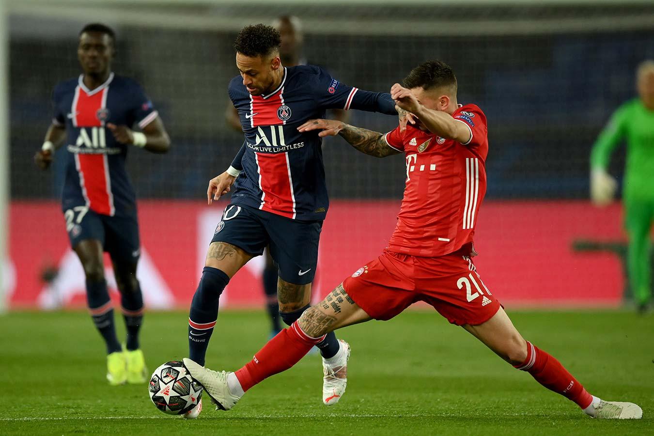 «ПСЖ» дома проиграл «Баварии», но вышел в полуфинал Лиги чемпионов