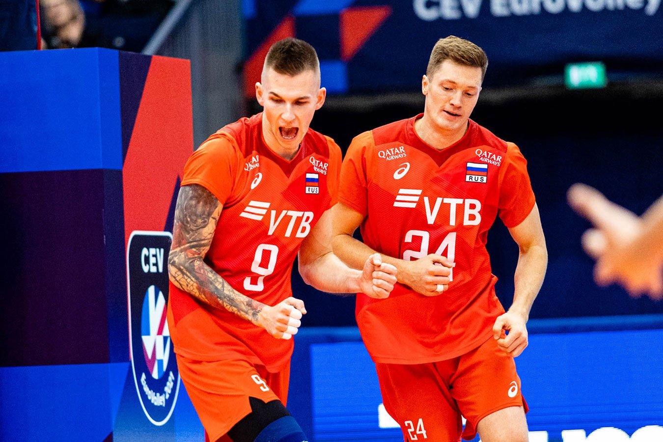 Российские волейболисты начали чемпионат Европы с поражения от Турции
