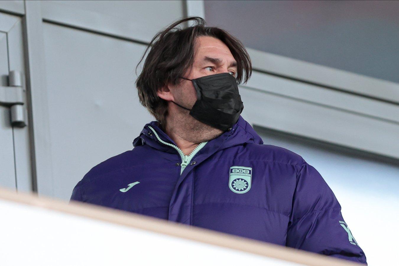 Шамиль Газизов извинился перед судьями матча «Уфа» — «Динамо»