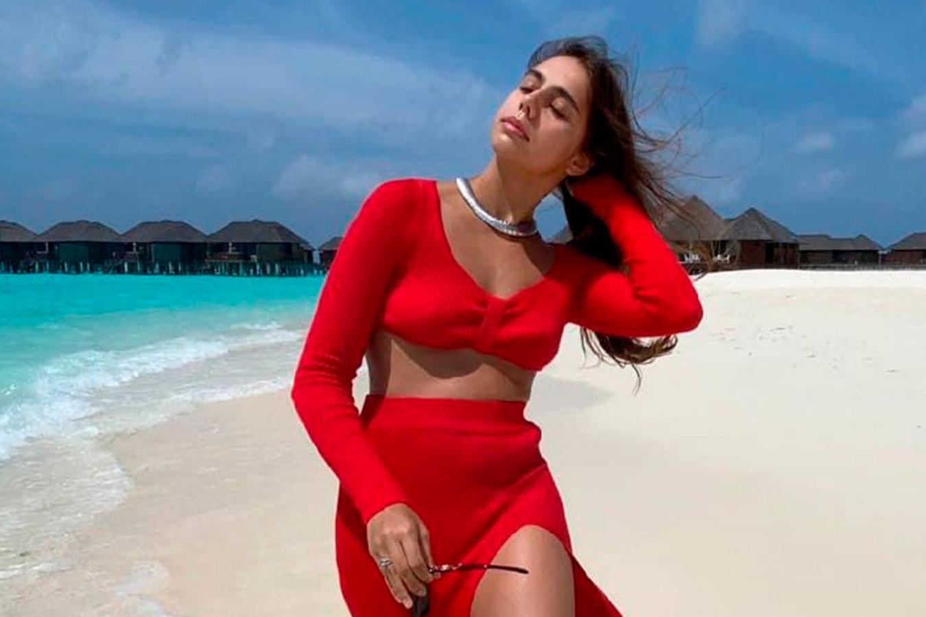 «Божественно прекрасна!» Пользователи оценили новое фото Мамун с отдыха на Мальдивах