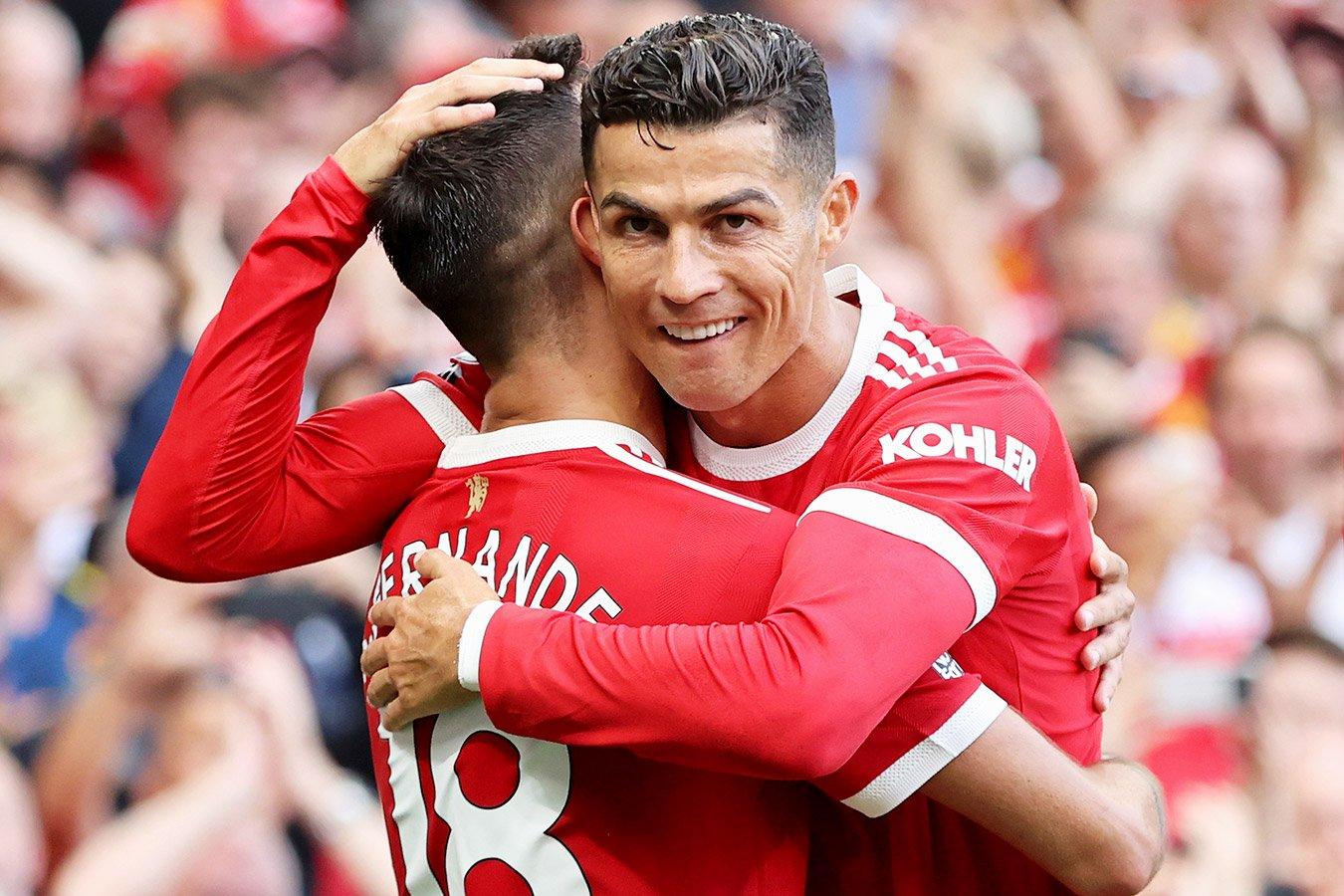 «Манчестер Юнайтед» обыграл «Ньюкасл». Роналду забил два гола после возвращения в АПЛ