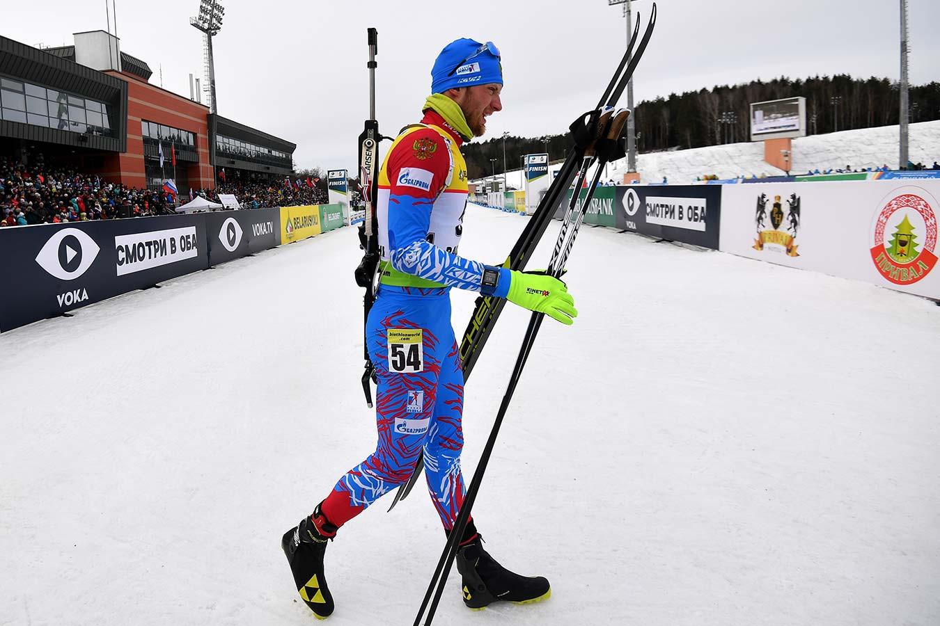 Максим Цветков не повесил на шею медаль, полученную после дисквалификации Семёна Сучилова