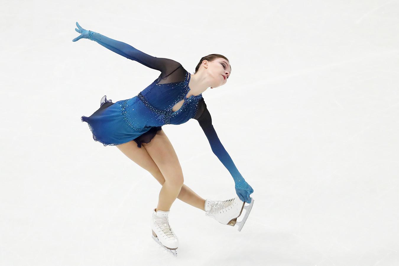 Фигуристка Щербакова выиграла чемпионат мира, Туктамышева и Трусова — призёры