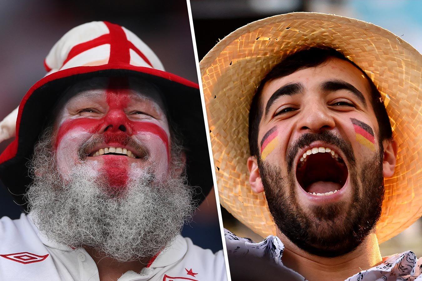 Англия — Германия: онлайн-трансляция матча чемпионата Европы — 2020 начнётся в 19:00