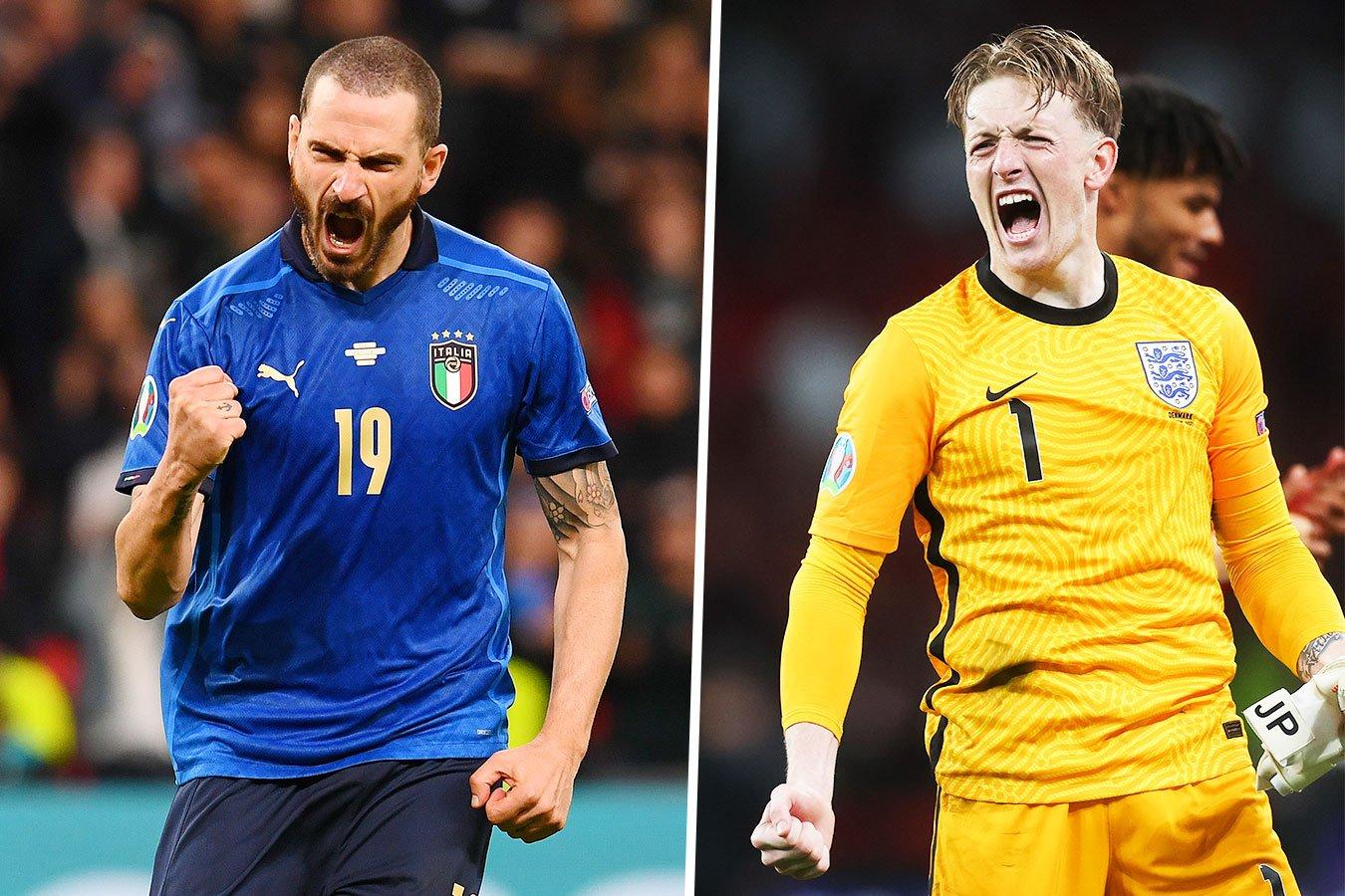 Италия — Англия: прямая трансляция матча Евро-2020 на канале «Россия 1»