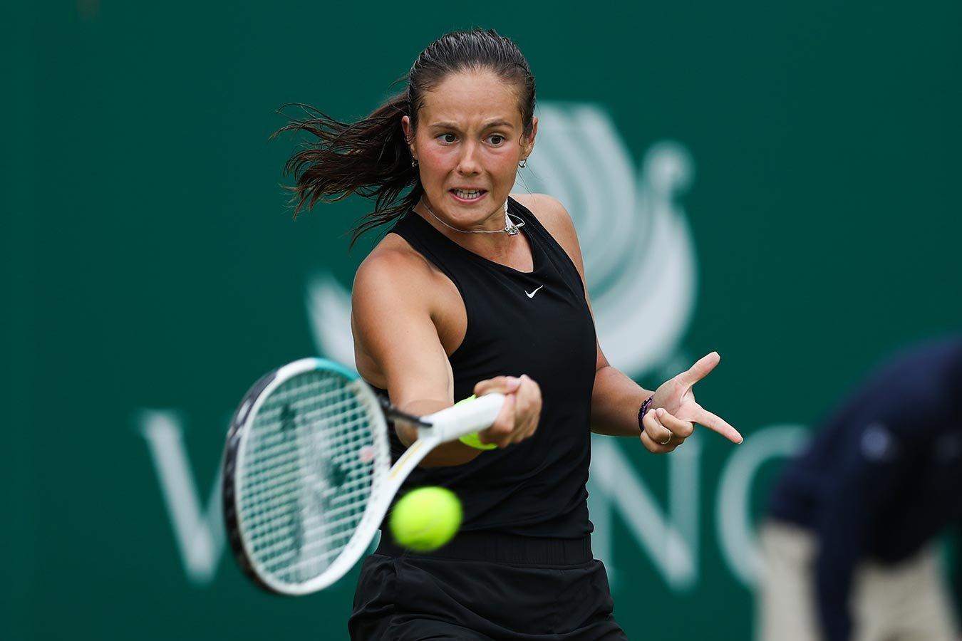 Дарья Касаткина впервые с 2018 года обыграла соперницу из первой десятки
