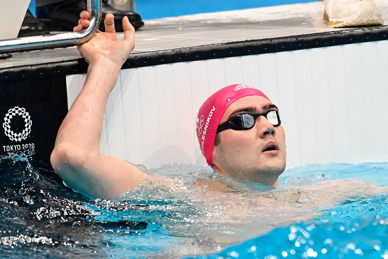 Россиянин Климент Колесников завоевал бронзу ОИ-2020 на дистанции 100 м вольным стилем