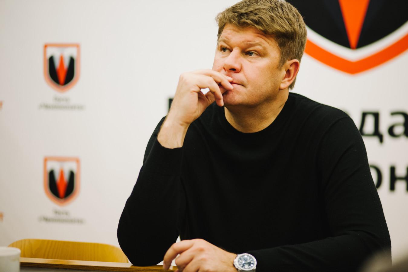 Дмитрий Губерниев отреагировал на поражение сборной России в матче со Словакией