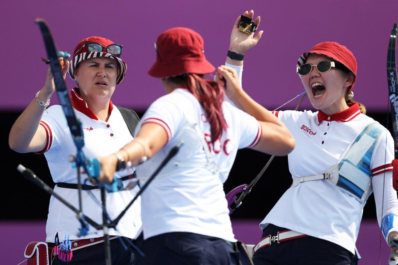 Российские лучницы завоевали серебряные медали Олимпийских игр — 2020 в Токио