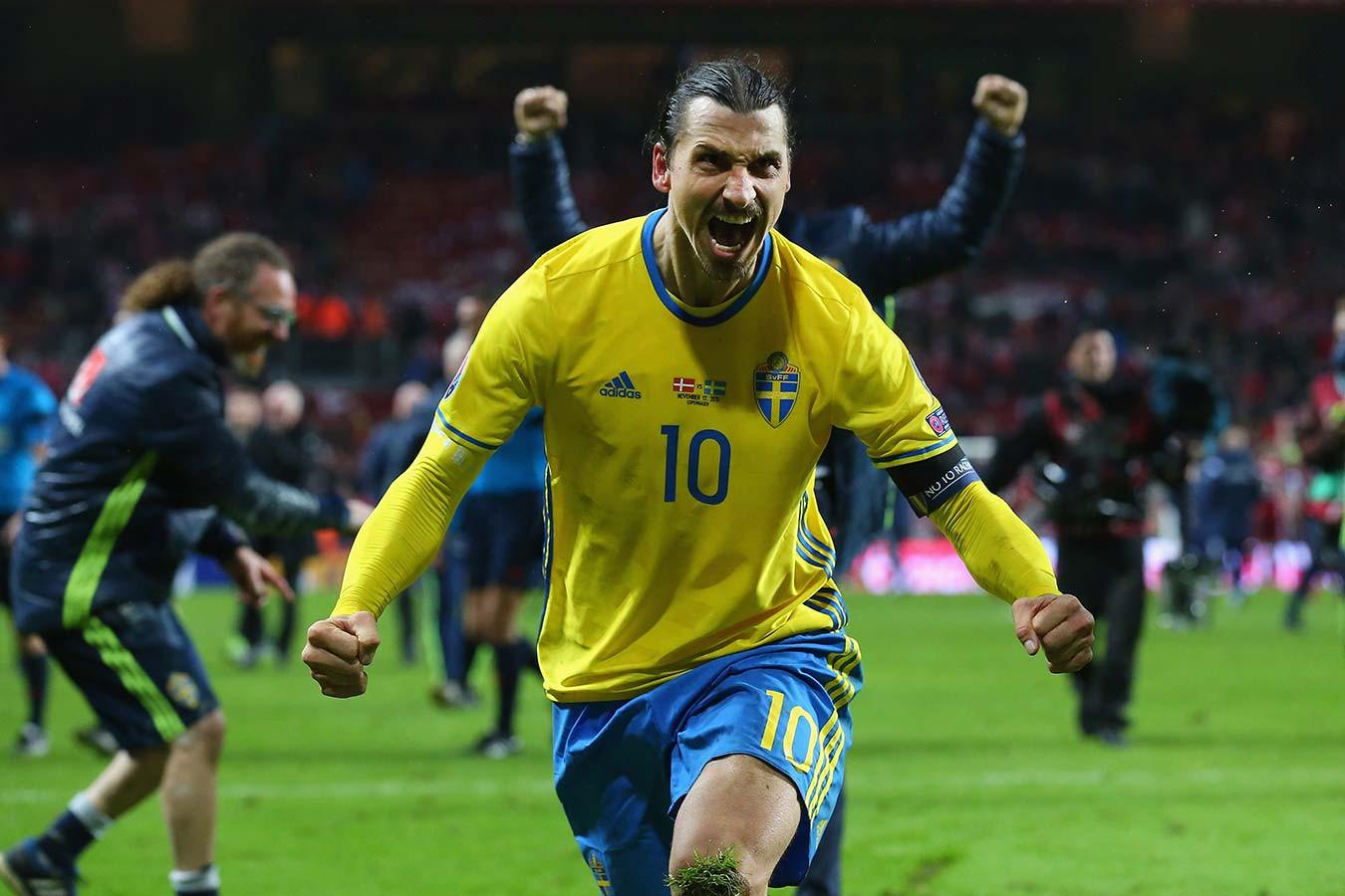 Златан Ибрагимович вернулся в сборную Швеции