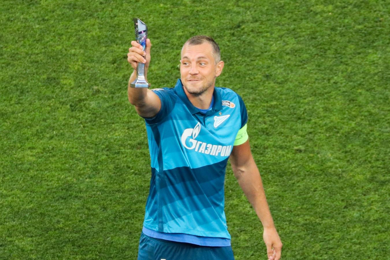 Дзюба вышел на третье место в списке бомбардиров чемпионата России