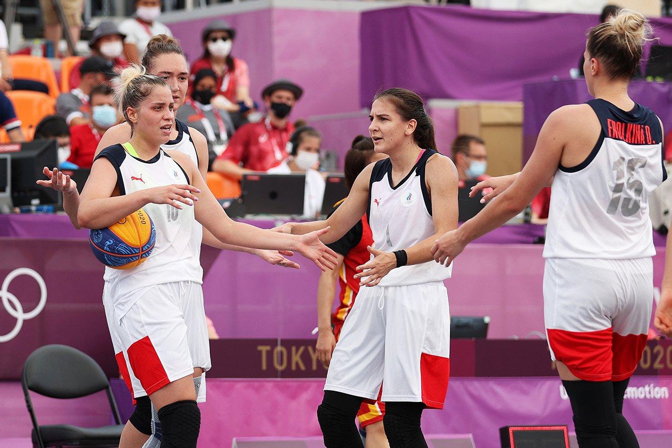 Женская сборная России по баскетболу 3х3 обыграла Китай и сыграет с США в финале ОИ-2020