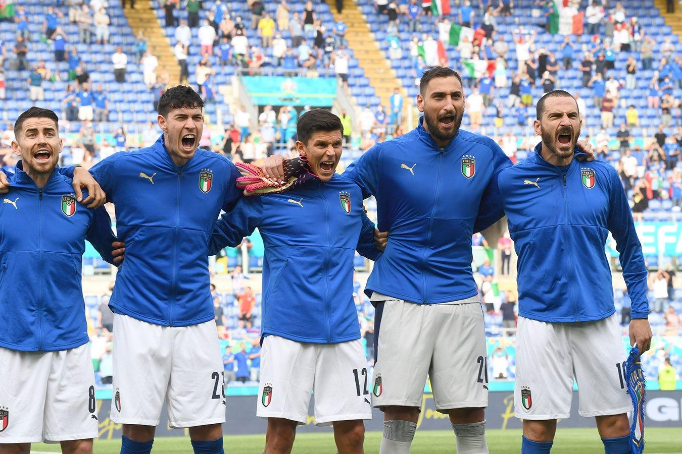 Италия — Австрия: прямой эфир матча 1/8 финала Евро-2020 на Первом канале начнётся в 22:00