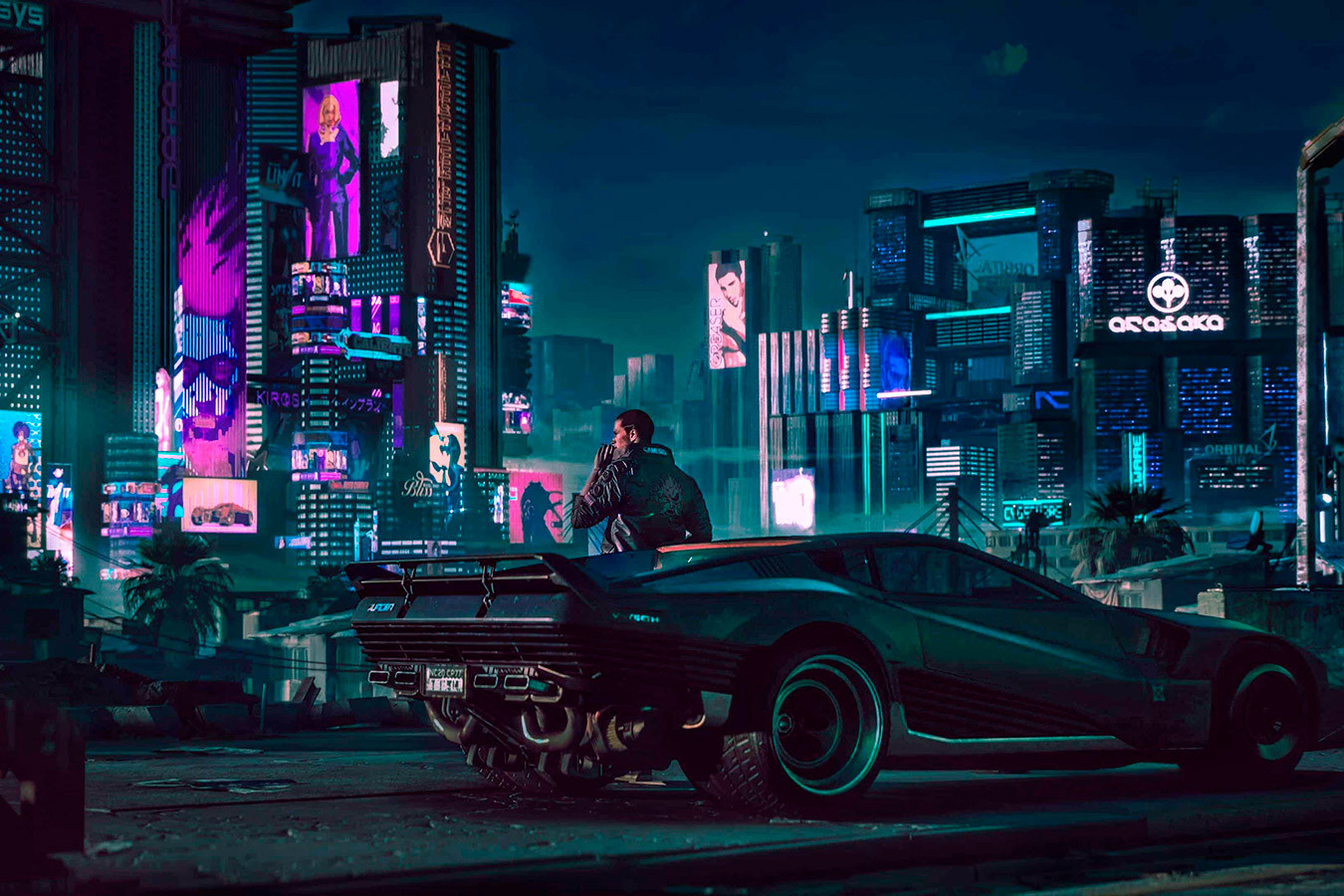 Графику Cyberpunk 2077 сравнили на PlayStation 5 и PC