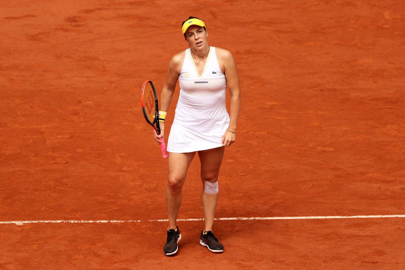 Павлюченкова не сумела завоевать титул на «Ролан Гаррос», проиграв Крейчиковой в финале