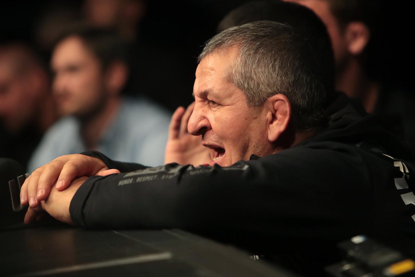 Тренер Нурмагомедова: у меня был негативный момент с отцом Хабиба